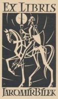 Ex Libris Jaromir Bilek (Don Quichote) - J. Binko - Exlibris