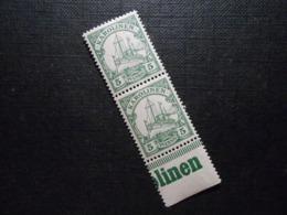 D.R.8 - 5Pf**MNH (2er Hoch) - Deutsche Kolonien (Karolinen) 1900 - Mi 5,00 € - Kolonie: Karolinen