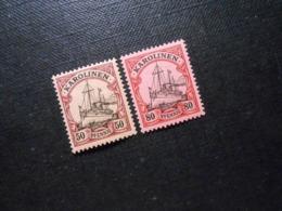 D.R.14/15 - 50/80Pf**MNH - Deutsche Kolonien (Karolinen) 1900  Mi 13,50 € - Kolonie: Karolinen