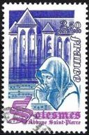 France 1980 - Mi 2221 - YT 2112 ( Abbey Saint-Pierre De Solesnes ) - Gebruikt