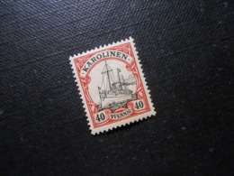 D.R.13 - 40Pf**MNH - Deutsche Kolonien (Karolinen) 1900  Mi 5,00 € - Kolonie: Karolinen