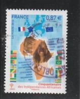 FRANCE 2010 OBLITERE A DATE CINQUANTENAIRE DES INDEPENDANCES AFRICAINES YT 4496 - - Francia