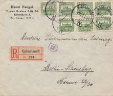Dänemark: 1921: Brief Aus Kopenhagen Nach Berlin - Dänemark