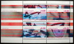 Denmark 2001 MiNr.1281-84    Block 16  MNH (**)  Jugendkultur Youth Culture  ( Lot  Mappe ) - Nuevos