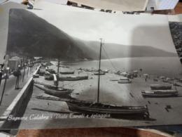 BAGNARA CALABRA  VIALE TURATI SPIAGGIA E BARCHE   VB1968 HE597 - Reggio Calabria