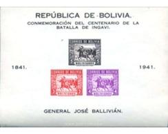 Ref. 614264 * MNH * - BOLIVIA. 1943. CENTENARIO DE LA BATALLA DE INGA VI - Bolivie