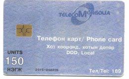 @+ Mongolie - Lac 150U - Gem2 Red - Ref : MN-TLC-0003B - Mongolië