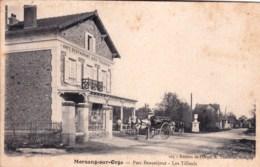 91 - Essonne -  MORSANG SUR ORGE -  Parc Beausejour - Café Restaurant  Les Tilleuls - Morsang Sur Orge