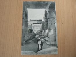 CP 118 / EGYPTE /  THEBES L ENTREE DE TEMPLE DE SETHOS I / CARTE NEUVE - Egypte