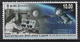 Sri Lanka (2017) - Set -  /  Espace - Space - Satellite - Communications - Space