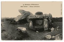 CPA  56      CARNAC          DOLMEN DE KERMARIO - Dolmen & Menhirs