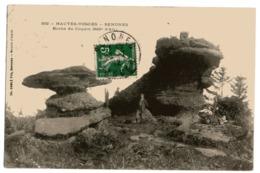 CPA   88       SENONES     1912        ROCHE DU COQUIN - Dolmen & Menhirs