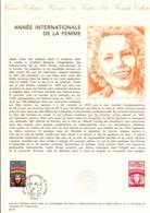 DOCUMENT FDC 1975 ANNEE INTERNATIONALE DE LA FEMME - Documentos Del Correo