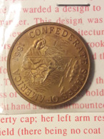 Token Jeton Ficha Moneda - CONFEDERATE STATES OF AMERICA 1861 C.S.A. 20 DOLLARS - Estados Unidos