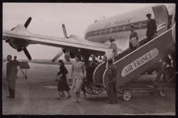 Photographie Ancienne Avion Air France. 13,9 X 9 Cm - Aviazione