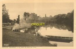 56 Peillac, Le Quai Du Pont De L'Oust, Pêcheurs Au 1er Plan, Laveuses..., Visuel Pas Courant - Andere Gemeenten