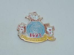 Pin's CHRISTOPHE COLOMB, 1992 - Vliegtuigen