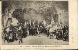 Cp Lichtensteinspiel, II Teil 2. Vorgang, Duc Ulrich Im Lager Der Landsknechte - Actores