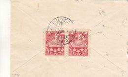 Lettonie - Lettre Petit Format De 1934 - Oblit Kuldiga - Exp Vers Dresden - Lettonie