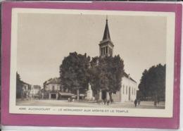 25.- AUDINCOURT- Le Monument Aux Morts Le Temple - France