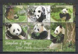 SS738 2013 KINGDOM OF TONGA FAUNA ANIMALS GIANT PANDA 1KB MNH - Ours
