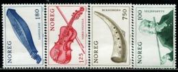 BW0818 Norway 1978 National Musical Instrument 4V Engraving Version MNH - Musik