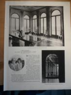 1937 Villa De Maeterlinck à Nice Orlamonde Galerie Marbre Jardin Hiver Salon Salle Manger Portique Bureau - Old Paper