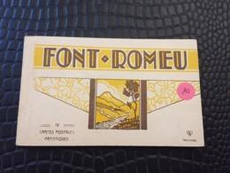 CARNET DE 12 CARTES POSTALES ARTISTIQUES DE FONT ROMEU -66- - Other Municipalities