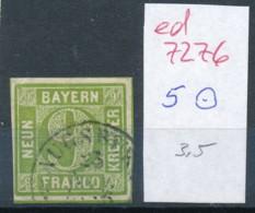 Bayern Nr.   5  O  (ed7276  ) Siehe Scan - Bavaria
