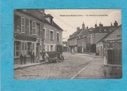 Pont-sur-Seine. - Un Bout De La Grande Rue. - Épicerie-Mercerie-Tabac. - France