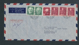 Schweiz Firmen Luftpost Beleg.... Nach Übersee (bg2552   ) Siehe Scan - Briefe U. Dokumente