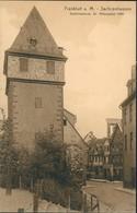 Sachsenhausen-Frankfurt Am Main Rittergasse Kuhhirtenturm Strassen Partie 1910 - Frankfurt A. Main