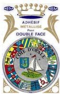 62  COTE D OPALE  ADHESIF  DOUBLE FACE - Non Classés