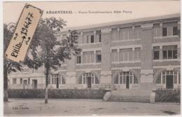 95 Argenteuil - Cpa / Cours Complémentaire Abbé Fleury. - Argenteuil