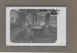LAEKEN-LAKEN: 1908-FAM VAN ENGELAND GARCIS-FOTOKAART - Laeken