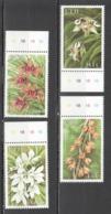 W193 FIJI NATURE FLORA FLOWERS #880-83 1SET MNH - Orchidées