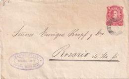 ARGENTINE 1889    ENTIER POSTAL/GANZSACHE/POSTAL STATIONERY LETTRE DE BUENOS AIRES - Interi Postali