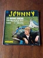 Disque De Johnny Hallyday - Les Mauvais Garçons - Philips 434.905 BE - 1964 - - Rock