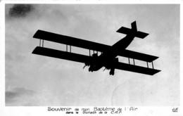 SOUVENIR DE MON BAPTEME DE L'AIR DANS LE GOLIATH DE LA C.A.F.  REF 61086 - Aviation
