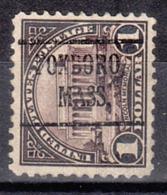 USA Precancel Vorausentwertung Preo, Locals Massachusetts, Foxboro 571-225 - United States