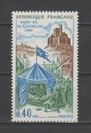 """FRANCE / 1968 / Y&T N° 1578 ** : """"Histoire De France"""" (Mort De Du Guesclin) - Gomme D'origine Intacte - France"""