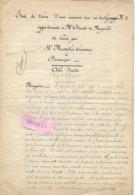 Etat Des Lieux 20 Pages 1887 Maison Vicomte De MAZENOT 25 BESANCON / Locarion à M MUSSELIN Brasserie - 1800 – 1899