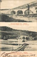 12482 - Modica (A) - Ferrovia Ragusa Inf. - Ponte Sul Fiume Irminio Prima Dell'Alluvione (Ragusa) F - Modica