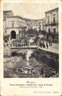 12484 - Modica - Piazza Municipio E Strada Di S Maria Di Betlem (Ragusa) F - Modica