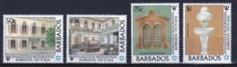 Barbados 1987 Set Of Stamps Celebrating The Restoration Of Bridgetown Synagogue. - Barbados (1966-...)