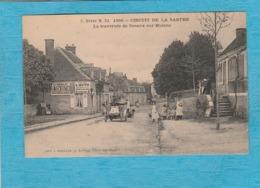 Circuit De La Sarthe, 1906. - La Traversée De Sceaux-sur-Huisne. - Frankrijk
