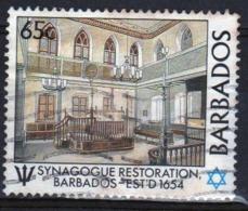 Barbados 1987 Single 65c Stamp Celebrating The Restoration Of Bridgetown Synagogue. - Barbados (1966-...)