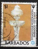 Barbados 1987 Single $1 Stamp Celebrating The Restoration Of Bridgetown Synagogue. - Barbados (1966-...)