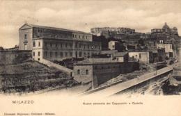 12466 - Milazzo - Nuovo Convento Dei Cappuccini E Castello (Messina) F - Messina