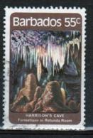 Barbados 1981 Single 55c Stamp Celebrating Harrisons Cave. - Barbados (1966-...)